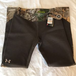 Under Armour charged wool cold gear Realtree camo